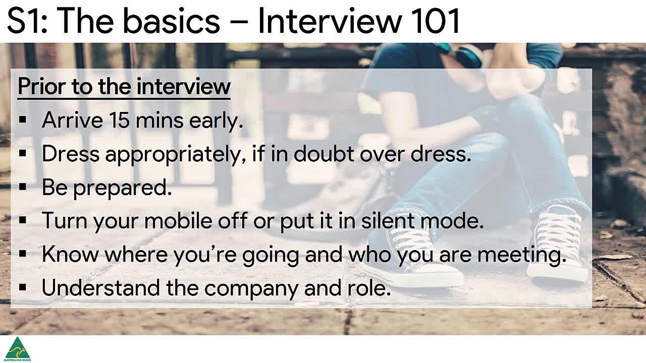 Job Interview Skills Training Course | Successful Interviews | Mauricio  Rubio | Skillshare