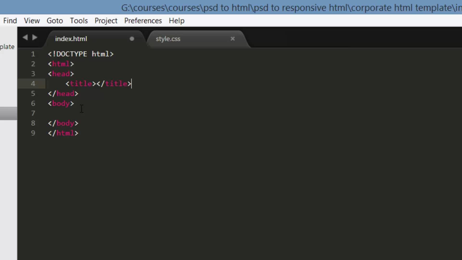 Learn PSD to Responsive Parallax HTML/CSS Web Design | Supriyo ...