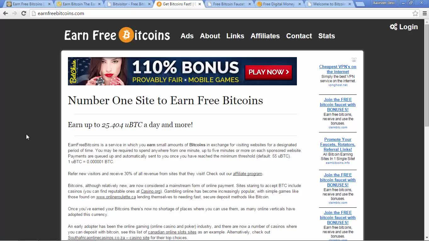 Earn Bitcoins Online: How To Start Earning Bitcoins Online