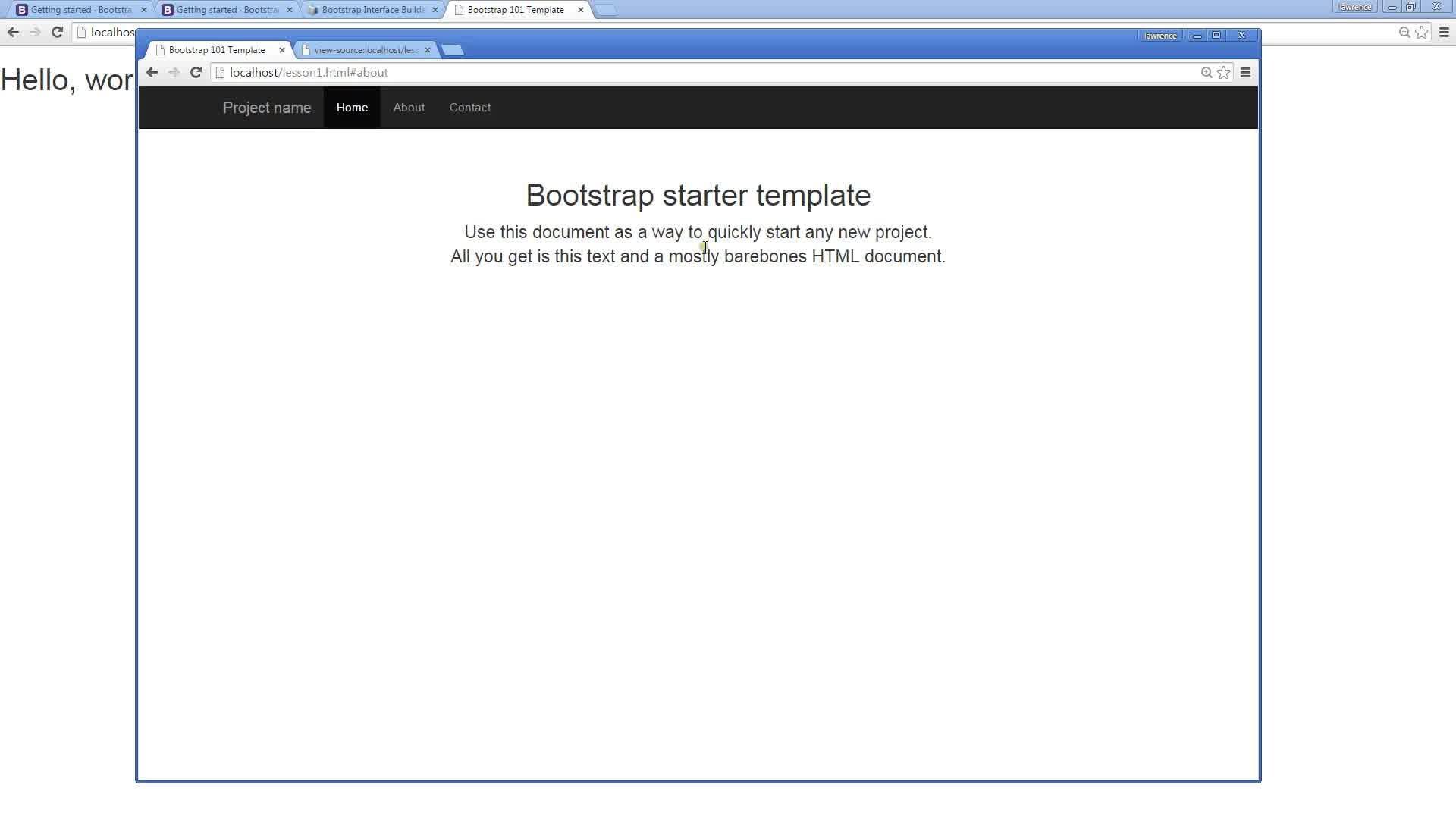Groß Bootstrap Starter Vorlagen Fotos - Entry Level Resume Vorlagen ...