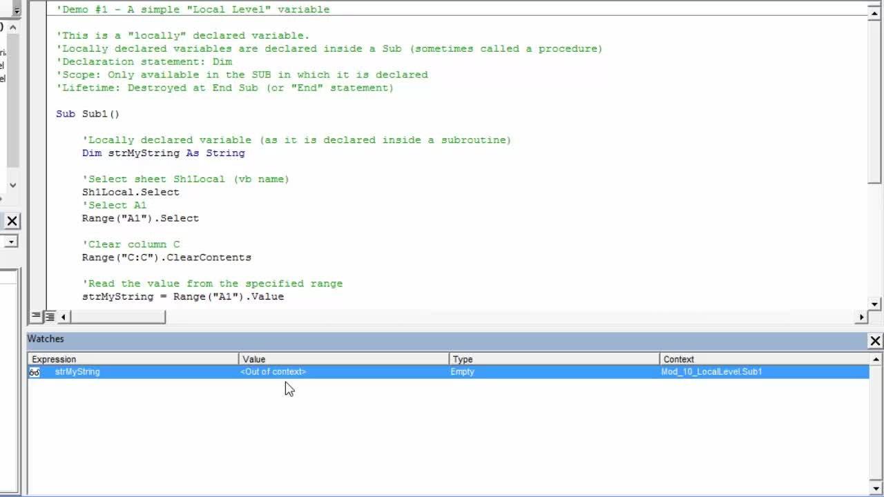 Microsoft Excel Essentials: Level 3 - VBA Programming - Unleash The