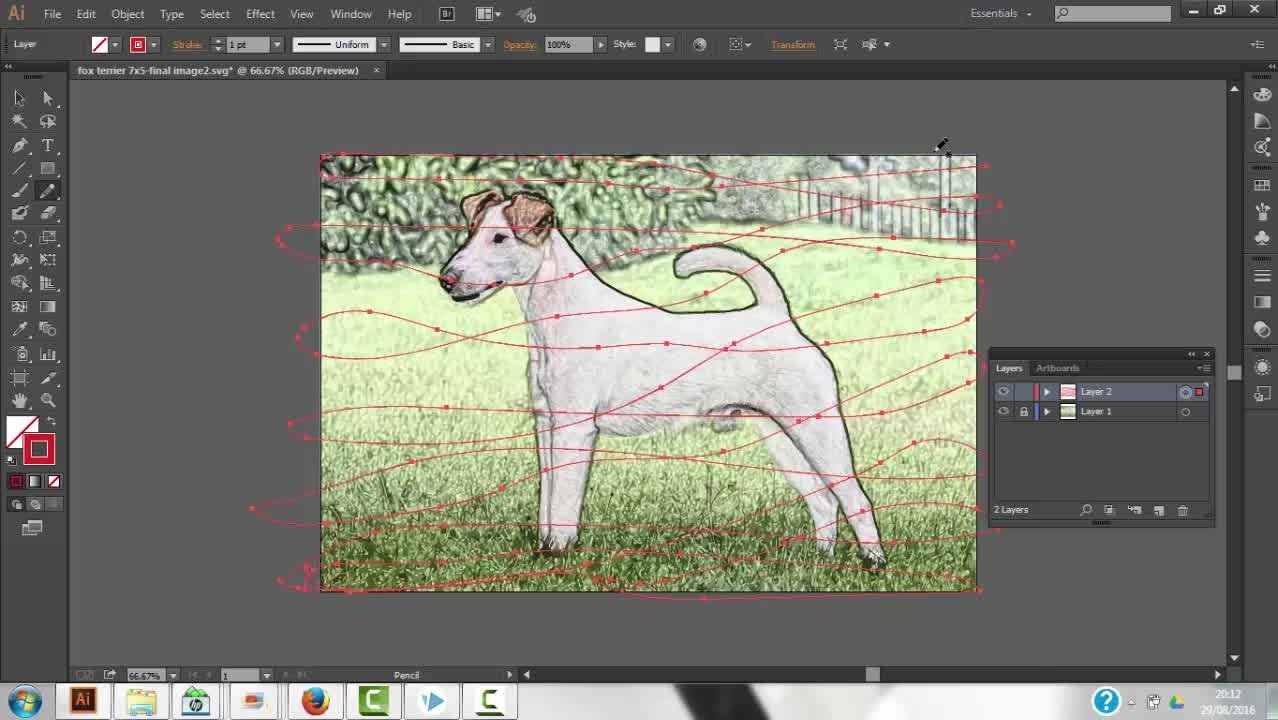 Create A Custom SVG Image For Sparkol Videoscribe From A Photograph
