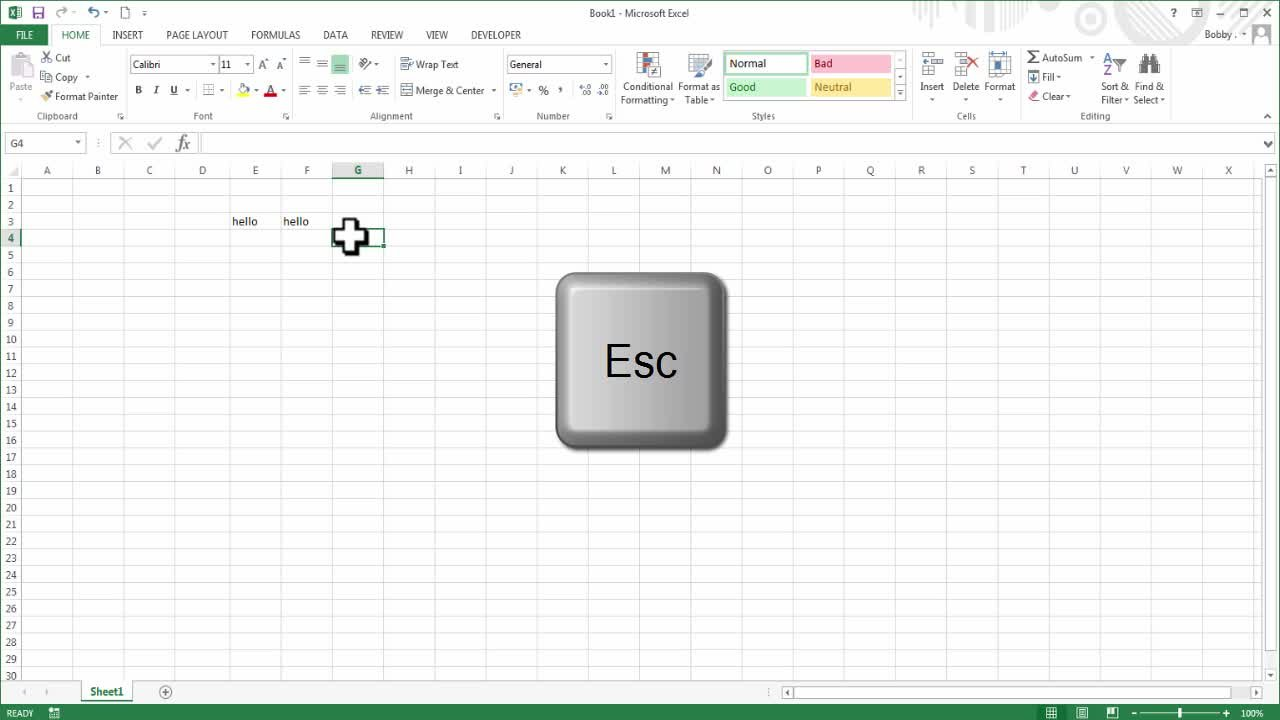 Workbooks copy formulas between workbooks : Microsoft Excel - From Beginner to Expert in 1 Hour | Bobby Gibbs ...
