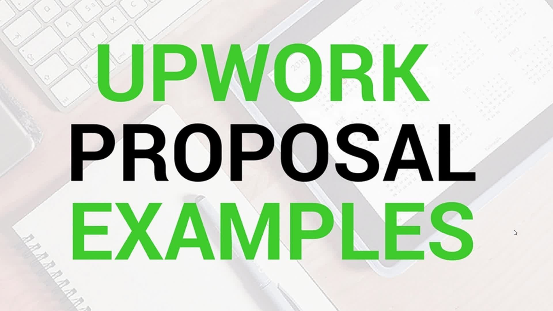Upwork 5 Upwork Proposal Example Bad Template Example Re