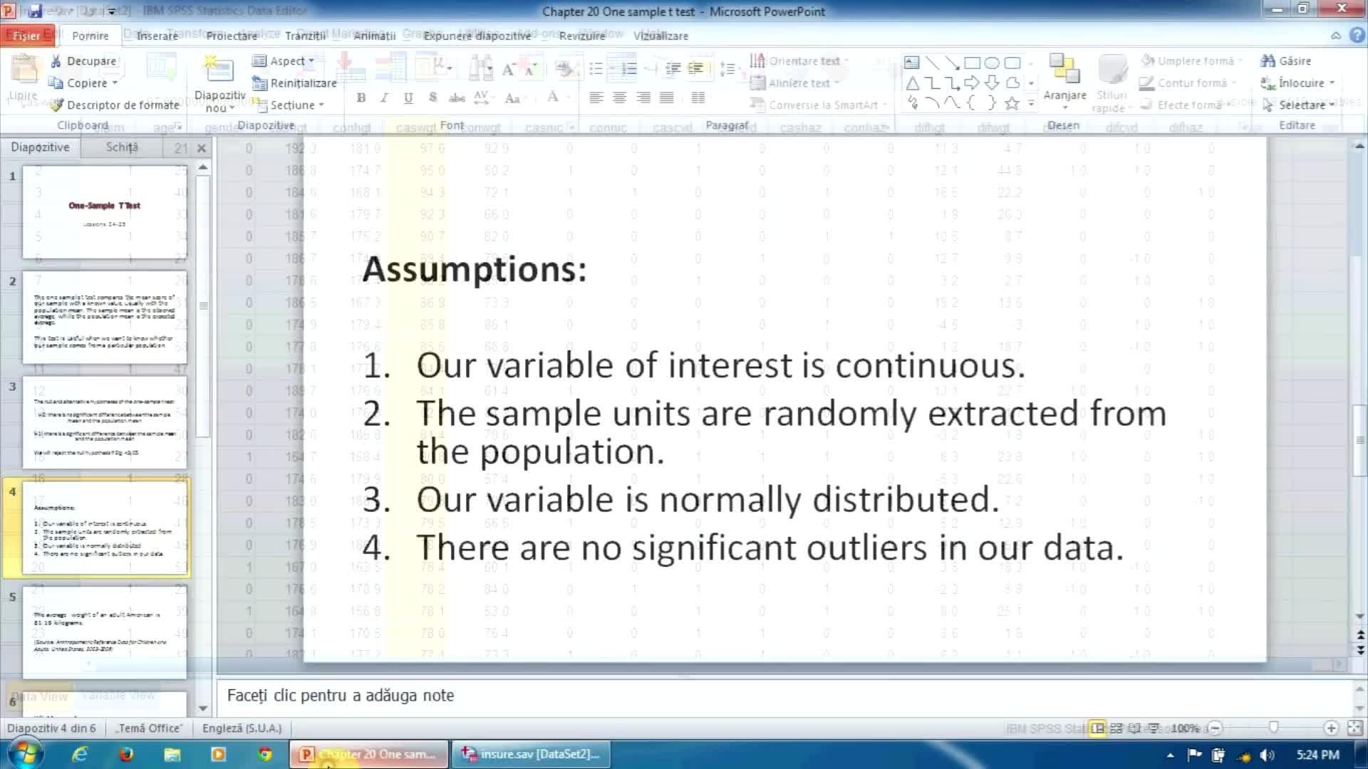 Univariate Analyses