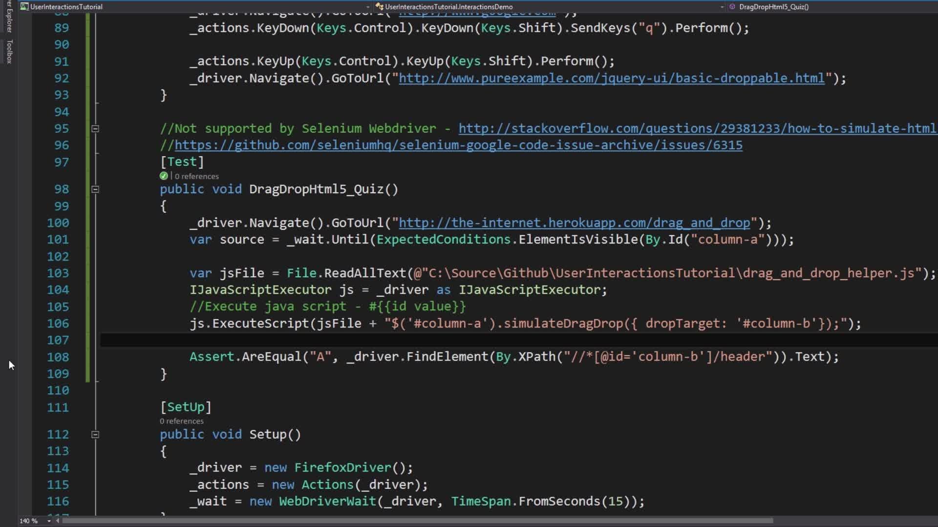 Selenium Webdriver User Interactions | Nikolay Advolodkin | Skillshare