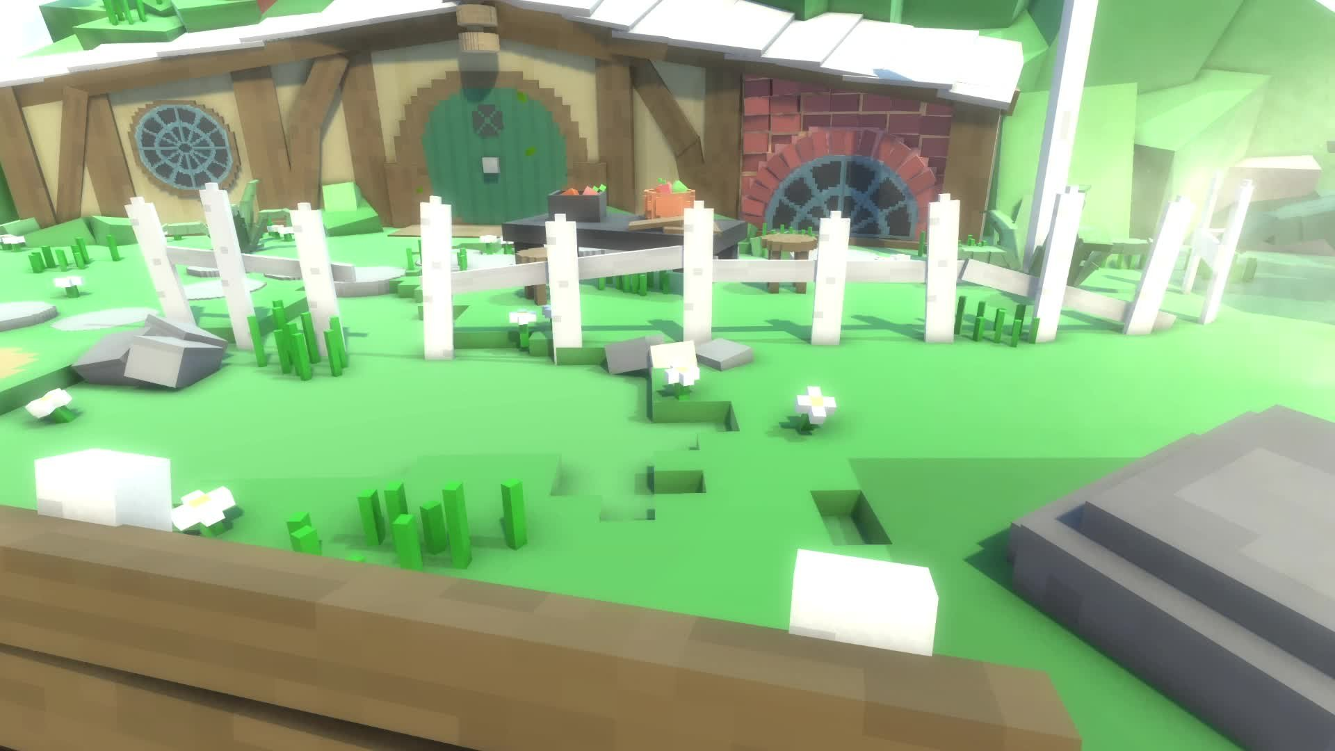 Unity 5 Environment Design using Voxel Art - for everyone