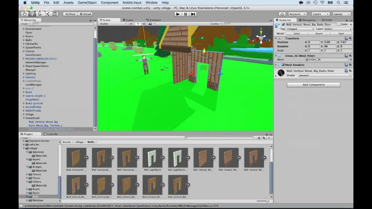 3D Voxel Art Building Environment Worlds with Unity 5