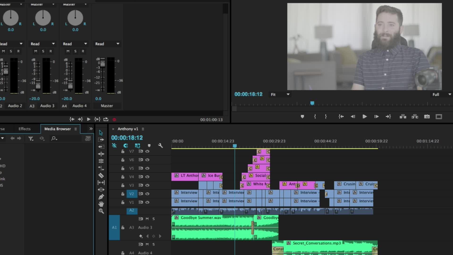 Premiere Pro Masterclass Module 1 - Start Video Editing