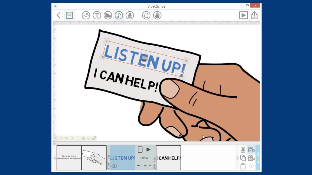 Produce Engaging Whiteboard Animations in VideoScribe | Mary