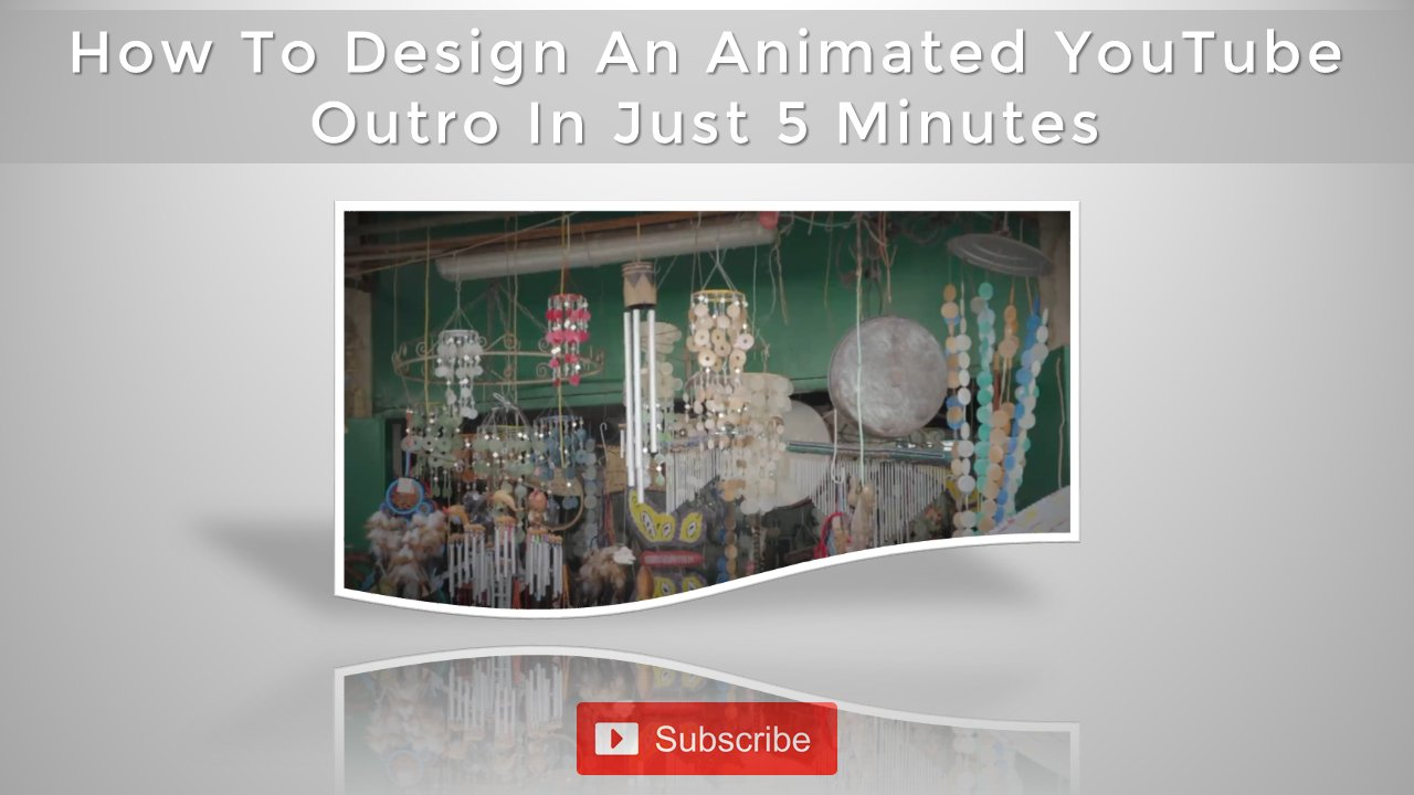 How To Design An Animated YouTube Outro Video In Just 5 Minutes With PowerPoint Style 4