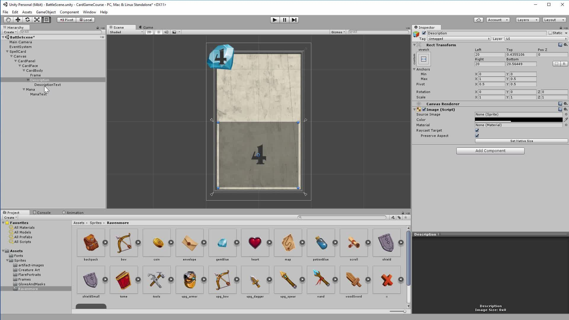 Develop Trading Card Game Battle System With Unity 3D: Part I