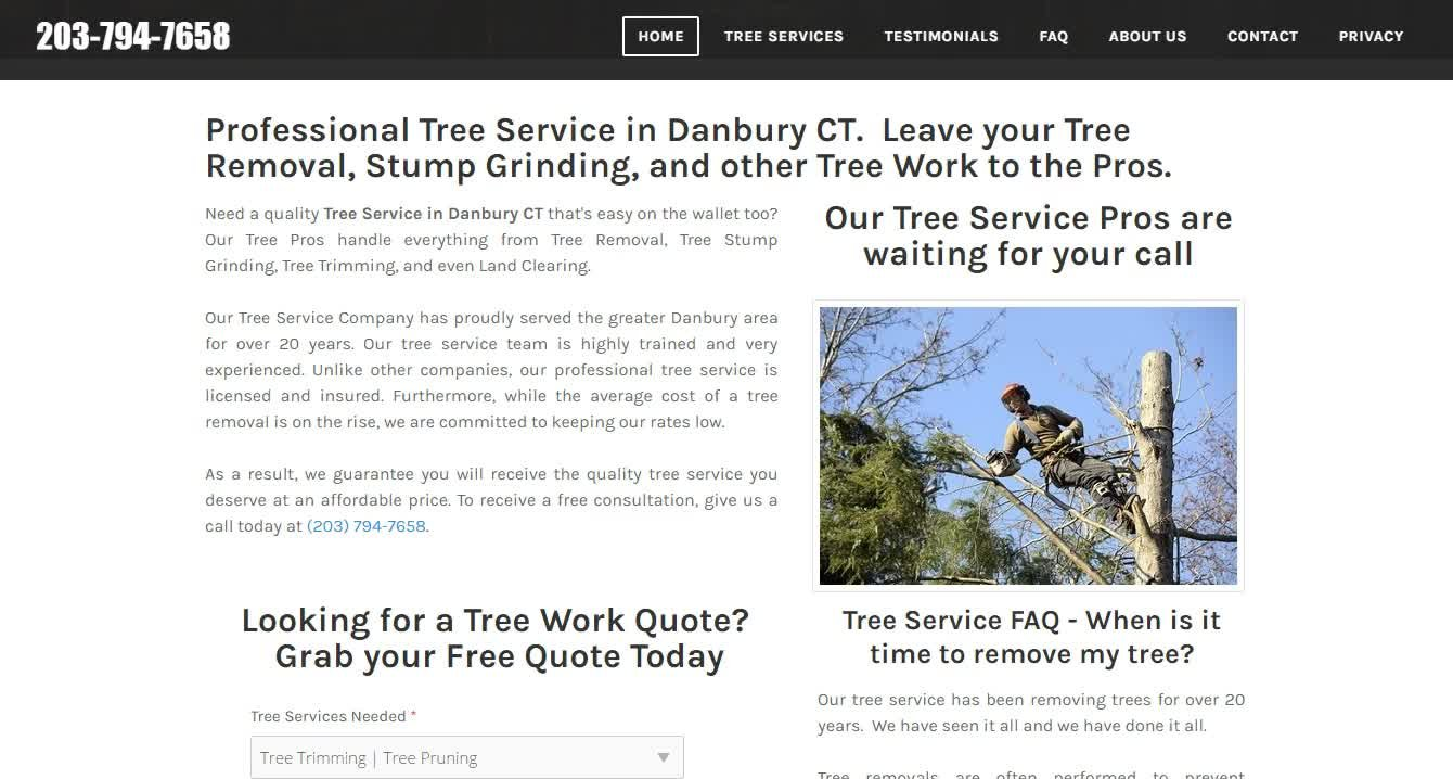 How to Design a Website for a Tree Service