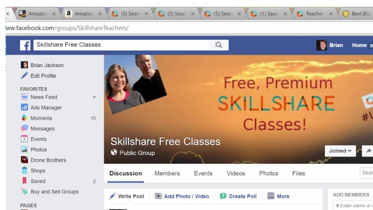 Skillshare - Lessons NewClasses
