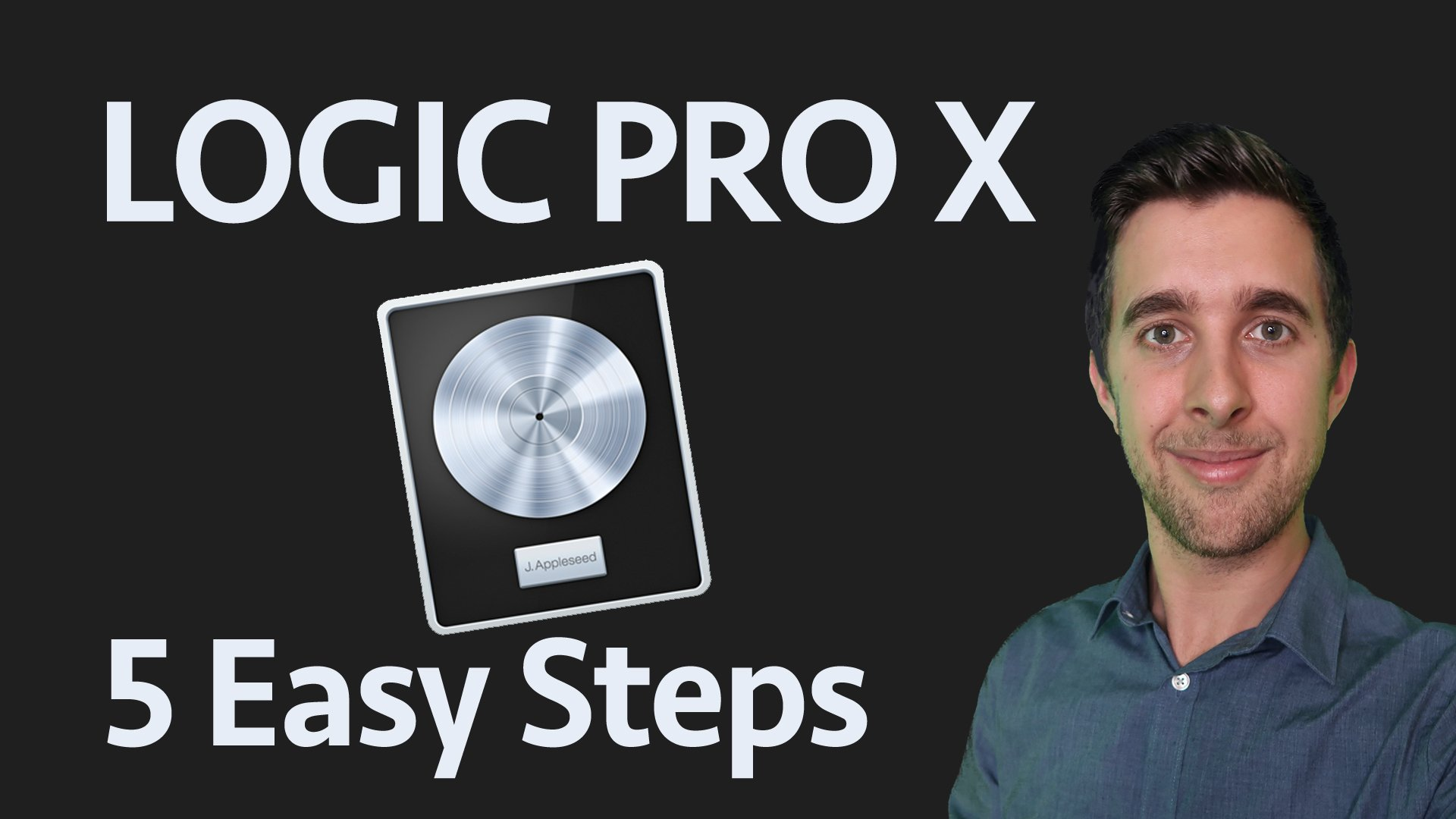 Music Production in Logic Pro X in 5 Easy Steps - Beginner's Starter Guide!