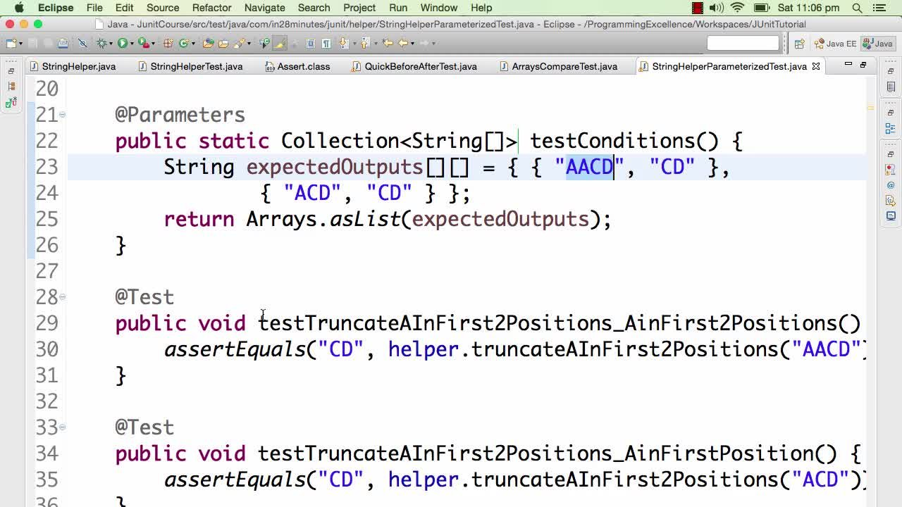 Junit tutorial for beginners learn java unit testing ranga junit tutorial for beginners learn java unit testing ranga karanam skillshare baditri Images