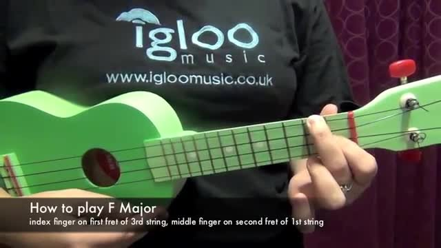 Beginner Ukulele Lessons - Play Your First Chords and The Banana ...