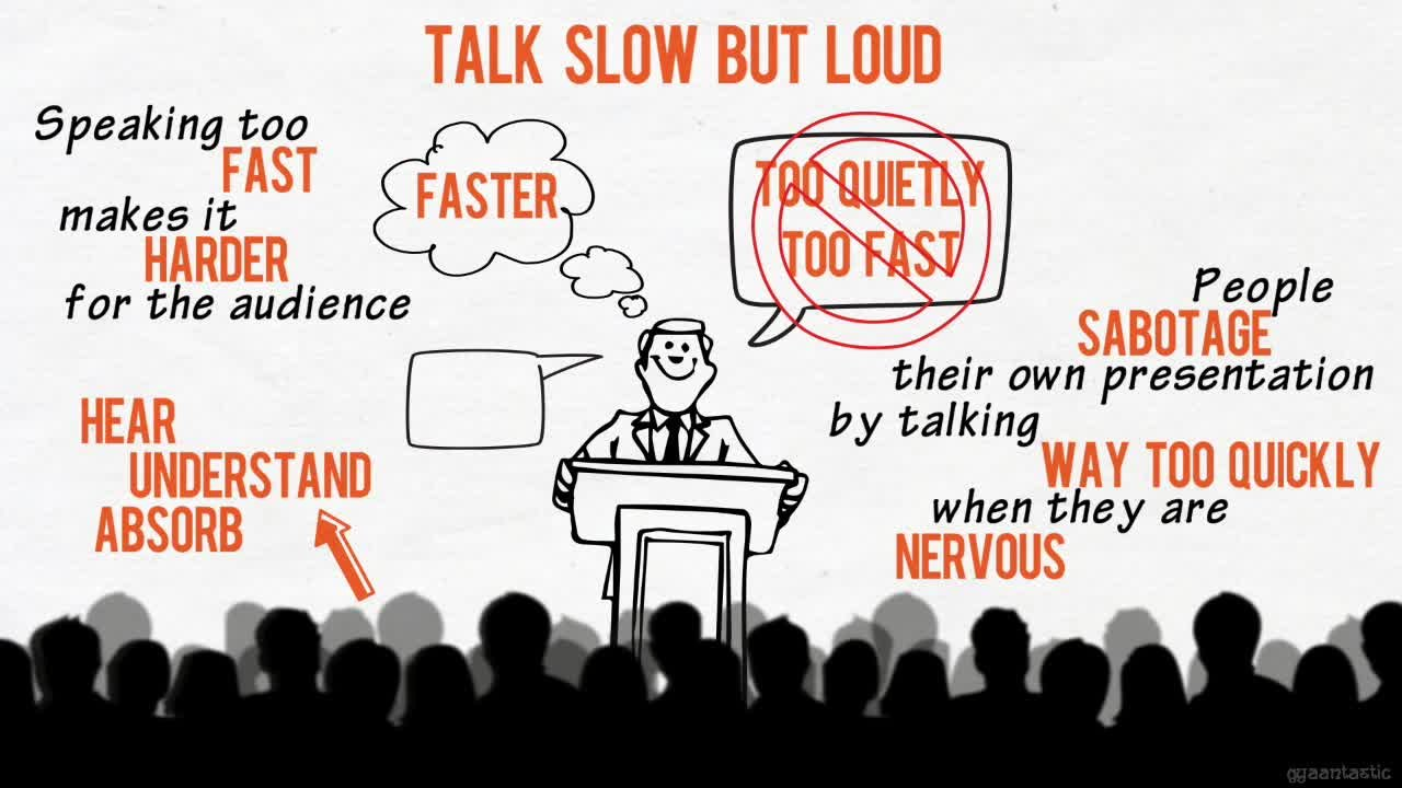 Image result for speaking too fast cartoon