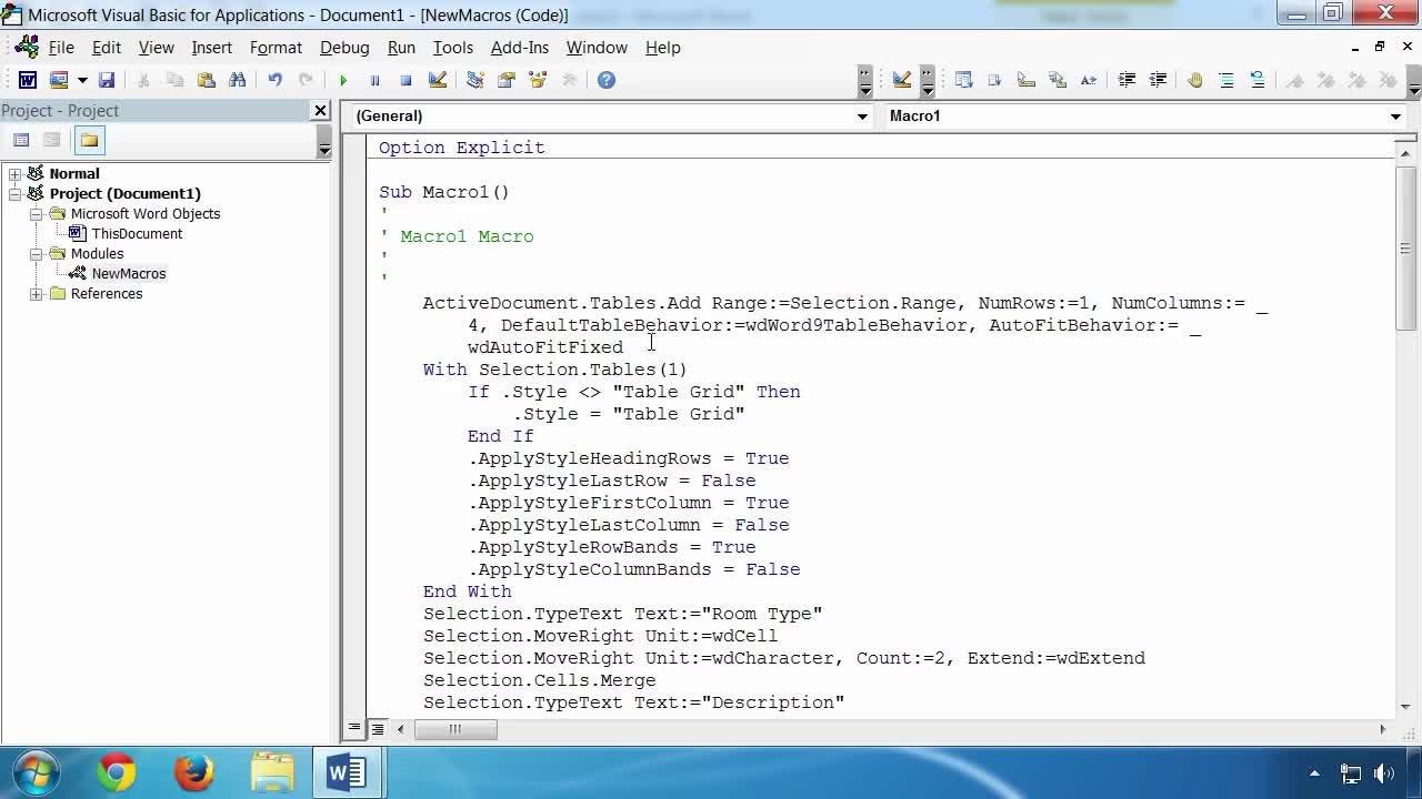 Microsoft Word VBA Macro Programming | Grant Gamble | Skillshare