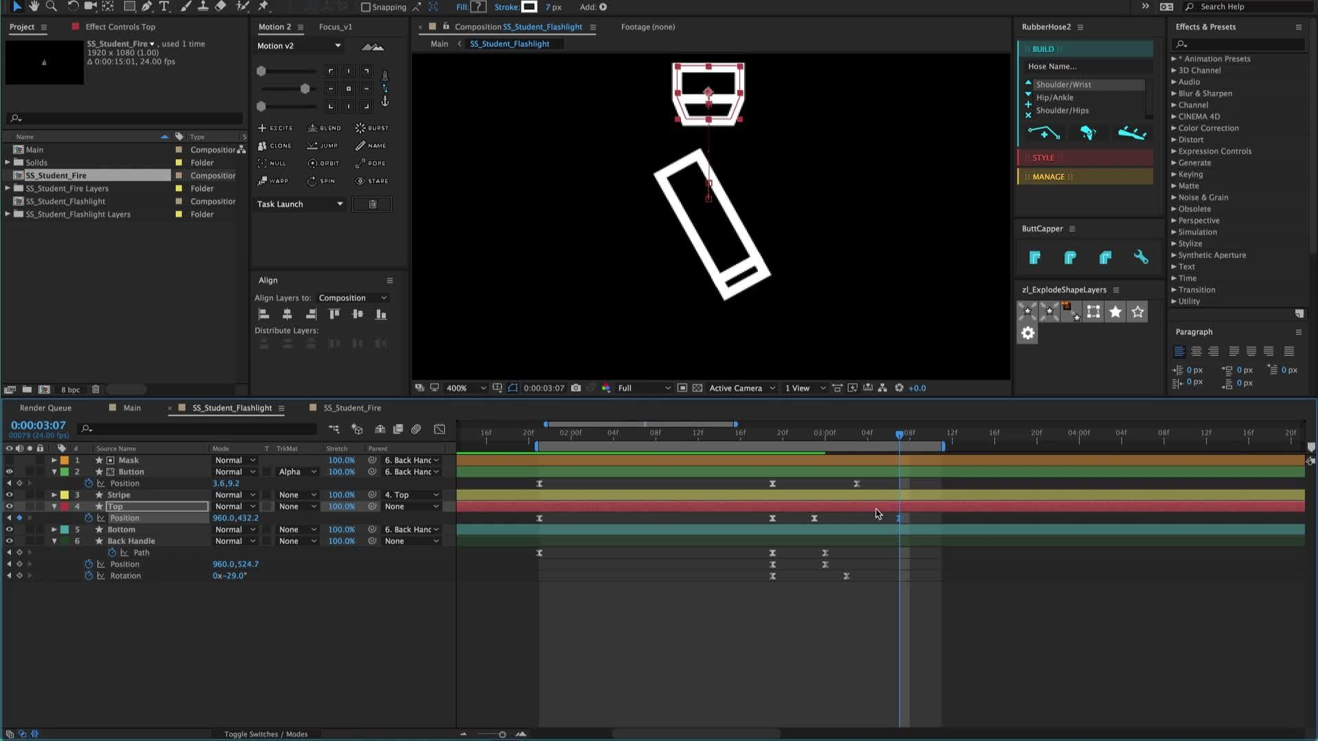 Transitions in After Effects - Volume 1   Reece Parker   Skillshare