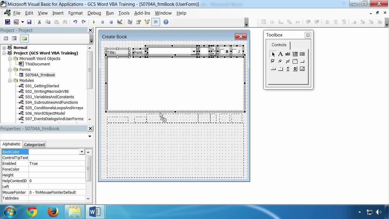 Microsoft Word VBA Macro Programming   Grant Gamble   Skillshare