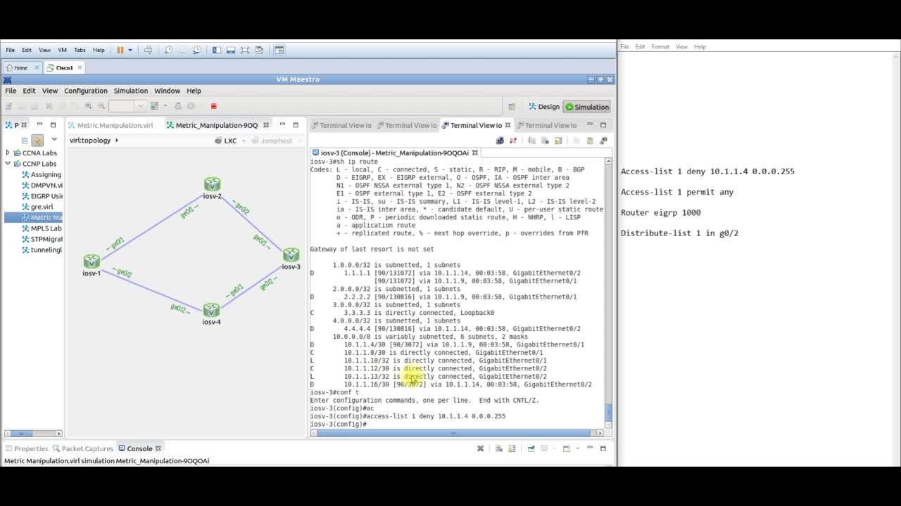 Ccnp Virtual Lab