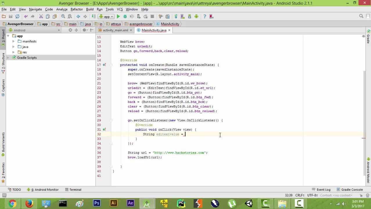 Java Browser App