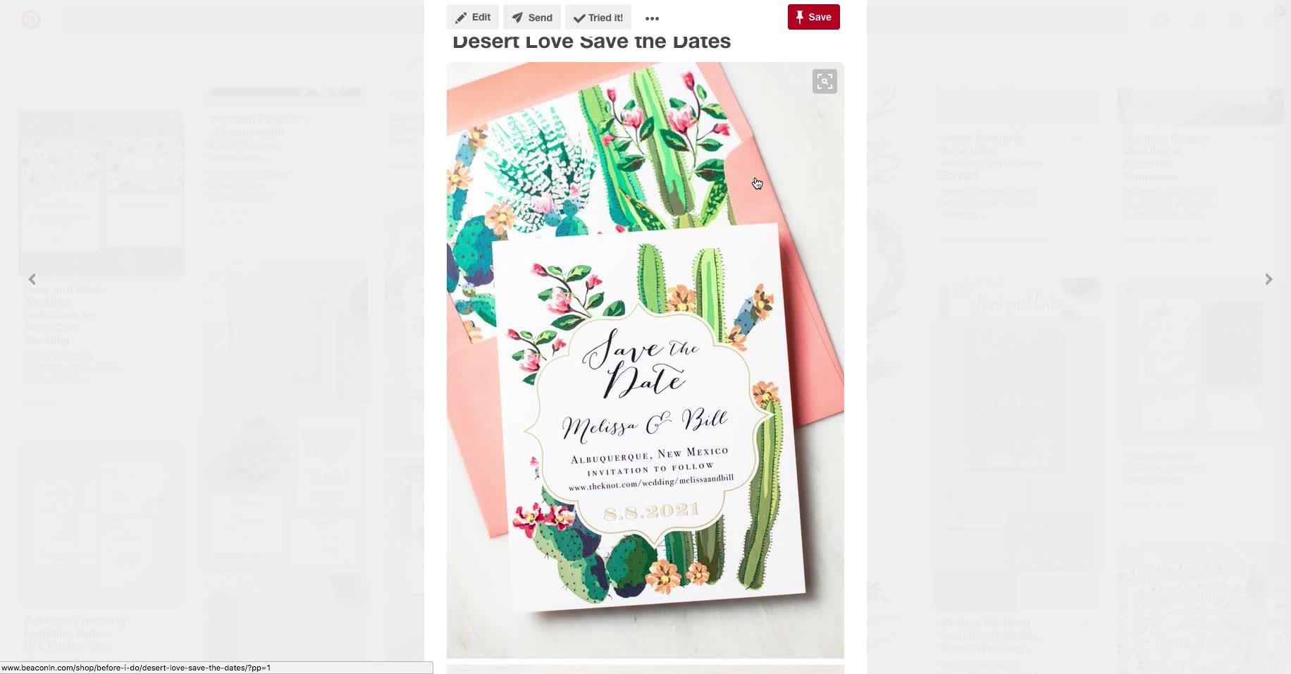 Design Your Own Spring Wedding Invitation in Illustrator | Melanie ...