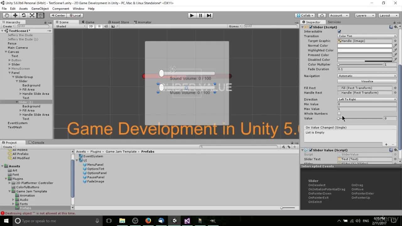 2D Game Development in Unity 5 6 | Christopher Navarre | Skillshare