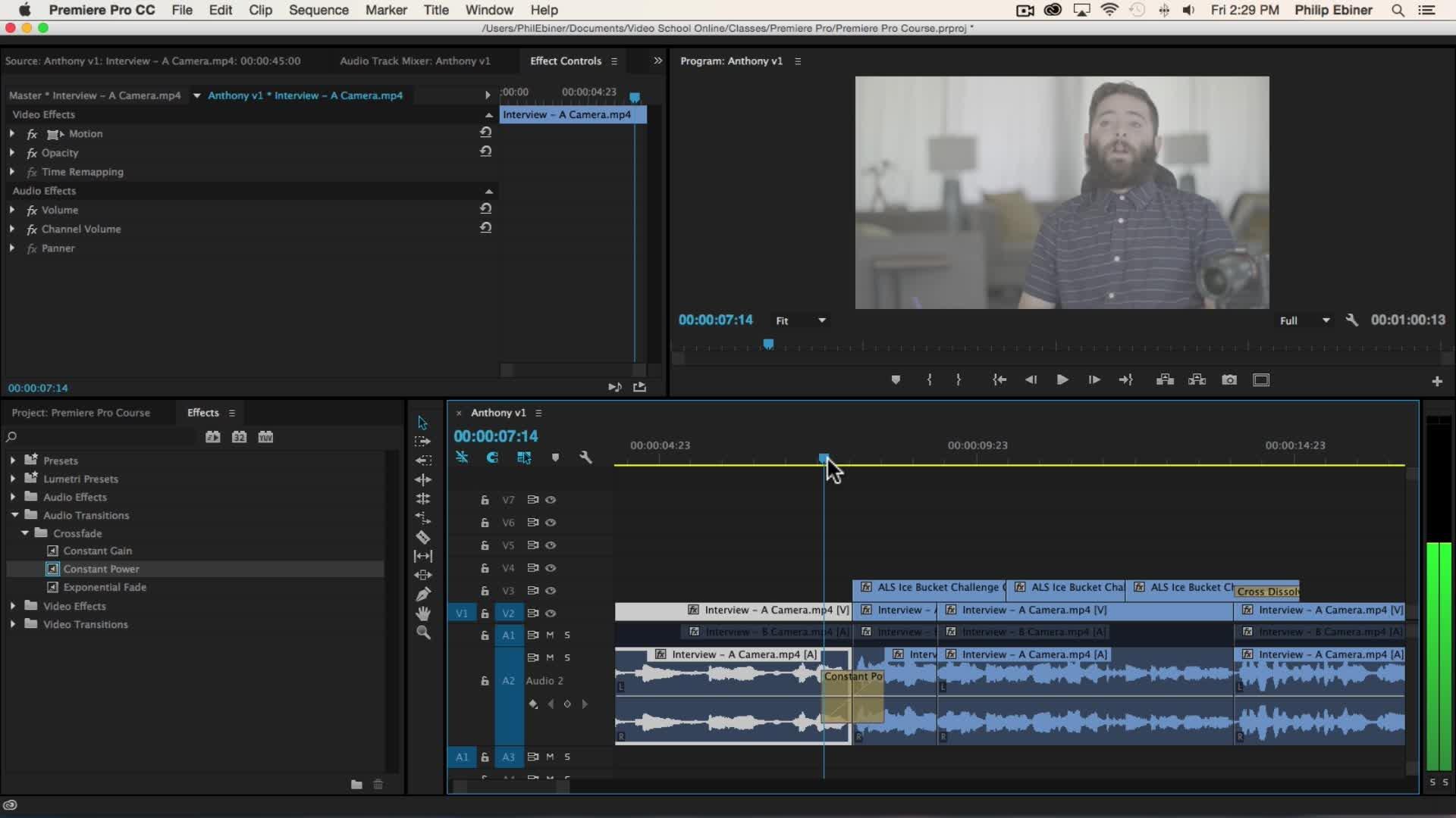 Adobe Premiere Pro CC - The Complete Course | Phil Ebiner | Skillshare