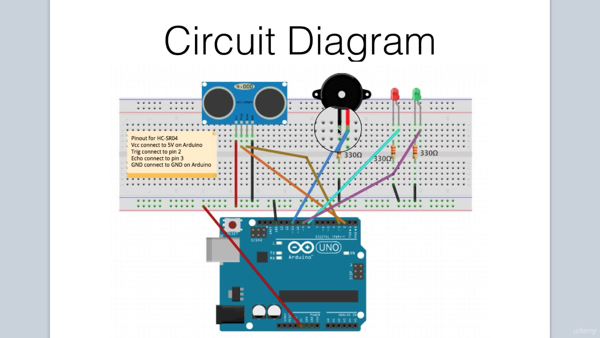 Arduino Bootcamp Projects - Ultrasonic Sensor Alarm | Lee Assam ...