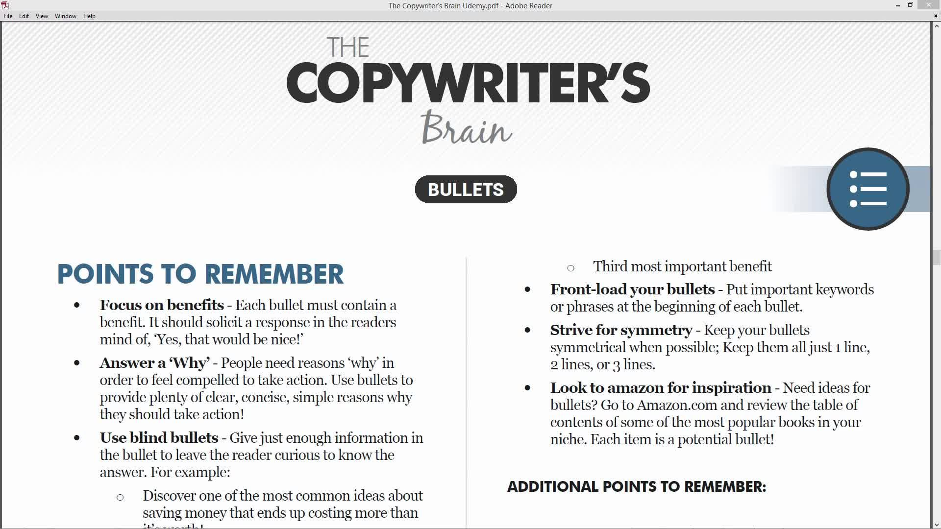 How To Be A Crazy Good Copywriter | Derek Franklin | Skillshare