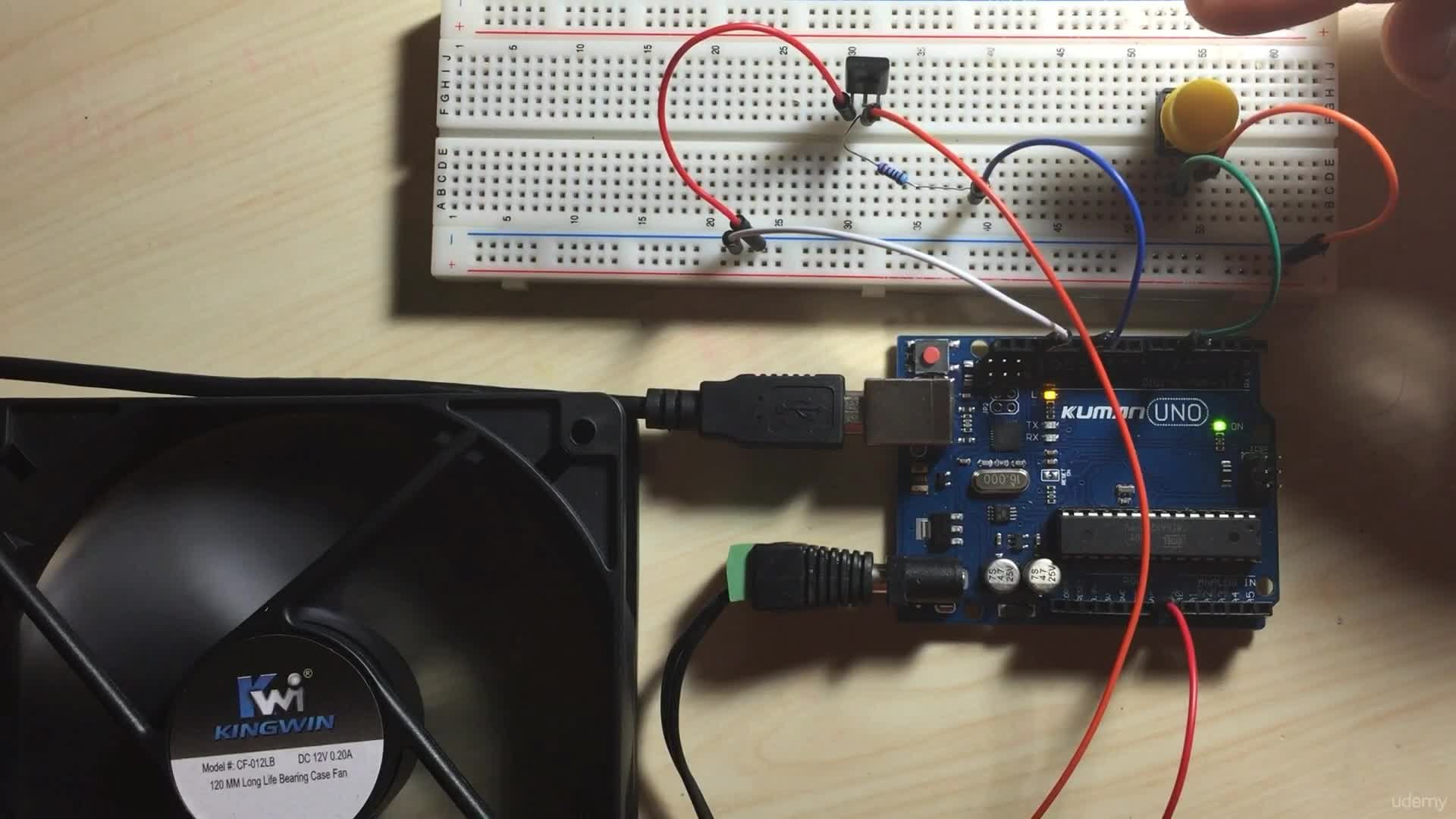 Arduino Bootcamp Projects - Controlling a CPU Fan with a Button - Part 2