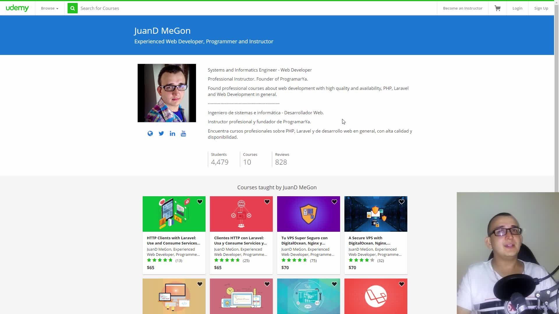 RESTful API with Laravel: Definitive Guide | JuanD MeGon | Skillshare
