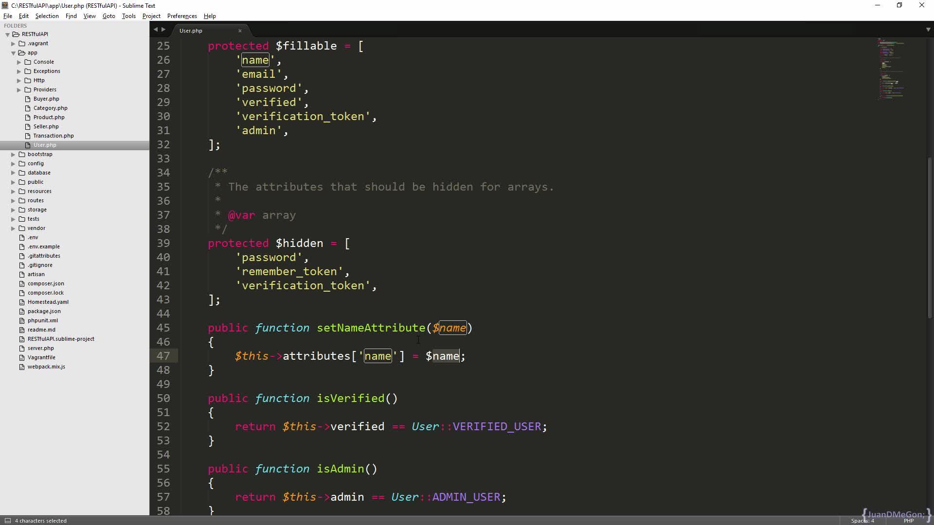 RESTful API with Laravel: Definitive Guide   JuanD MeGon   Skillshare