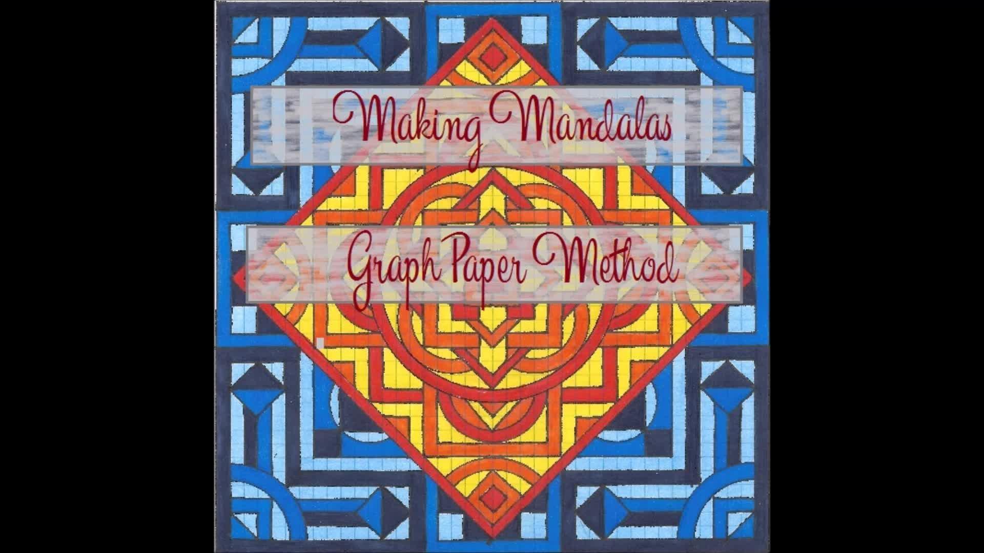 Making Mandalas - Graph Paper Method | Tiffany Lovering