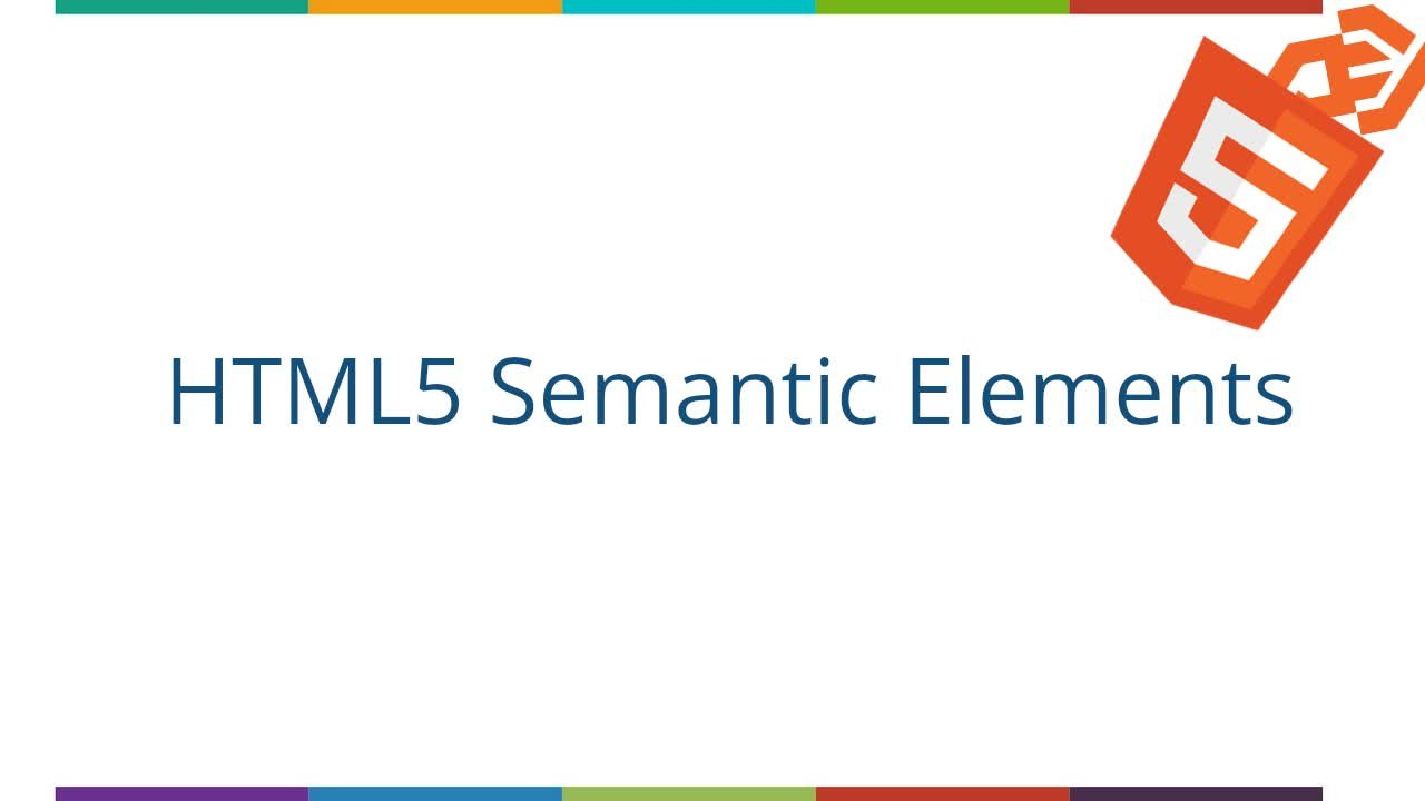 Basic to Semantic HTML: How to Structure Web Pages