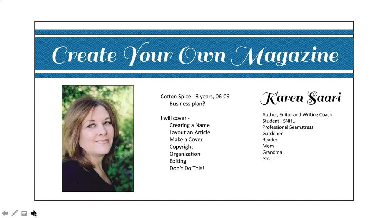 How to create your own magazine