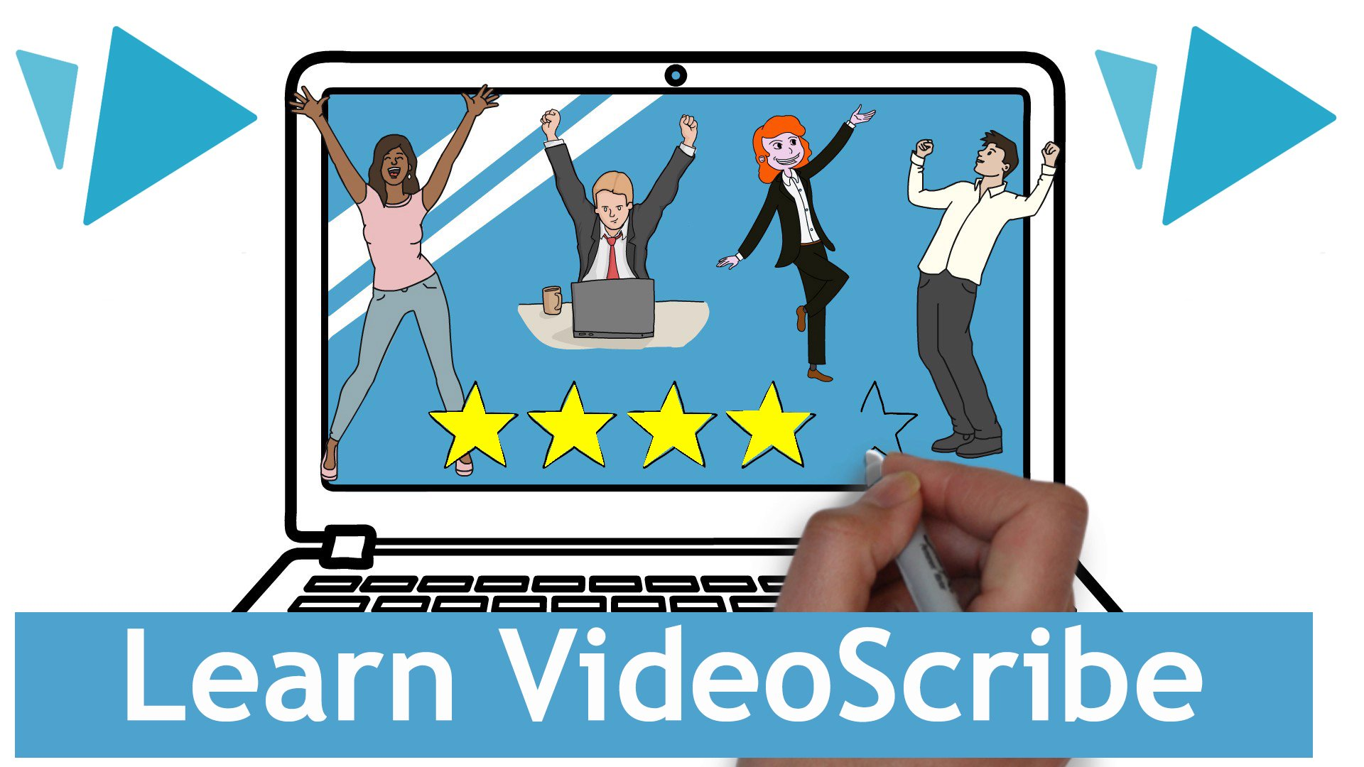 Learn VideoScribe 2019 Version V3 3 Whiteboard Animations in Under 1