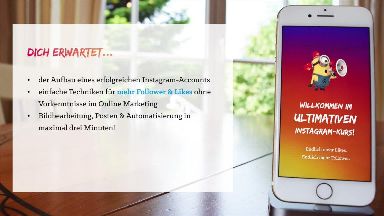 Der ultimative Instagram-Kurs 2017: Endlich mehr Follower! | Alex ...