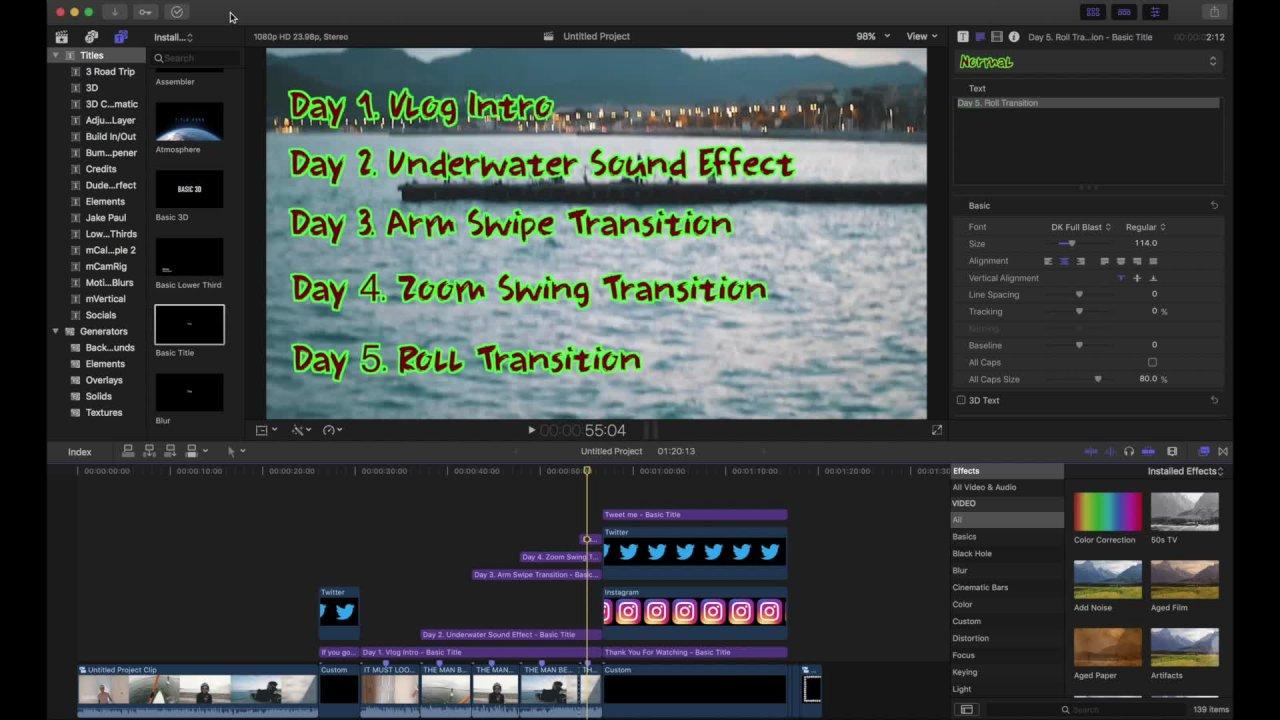 Learn to edit Like Jon Olsson - Final Cut Pro | Oliver