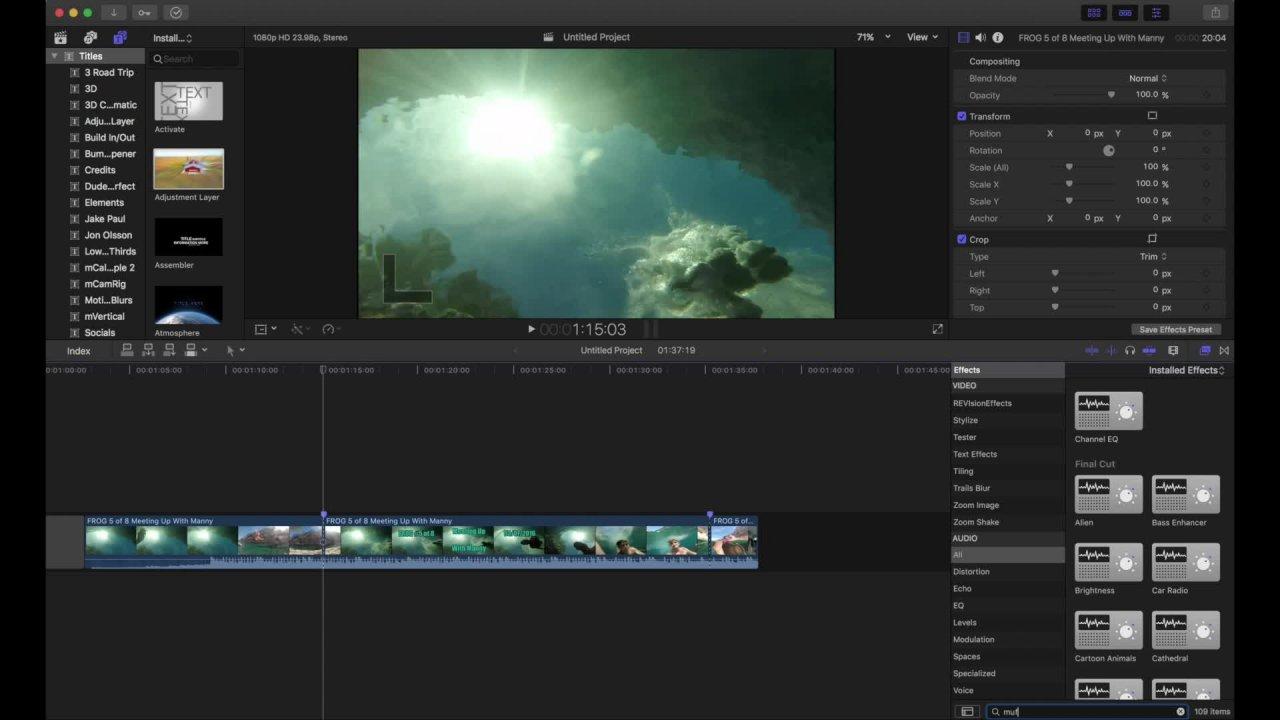 Learn to edit Like Jon Olsson - Final Cut Pro - Skillshare