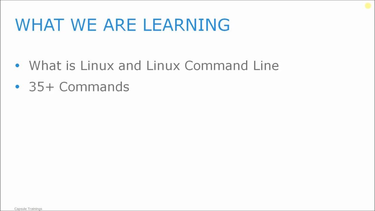 Linux command line interface and bash scripting capsule linux command line interface and bash scripting capsule trainings skillshare buycottarizona