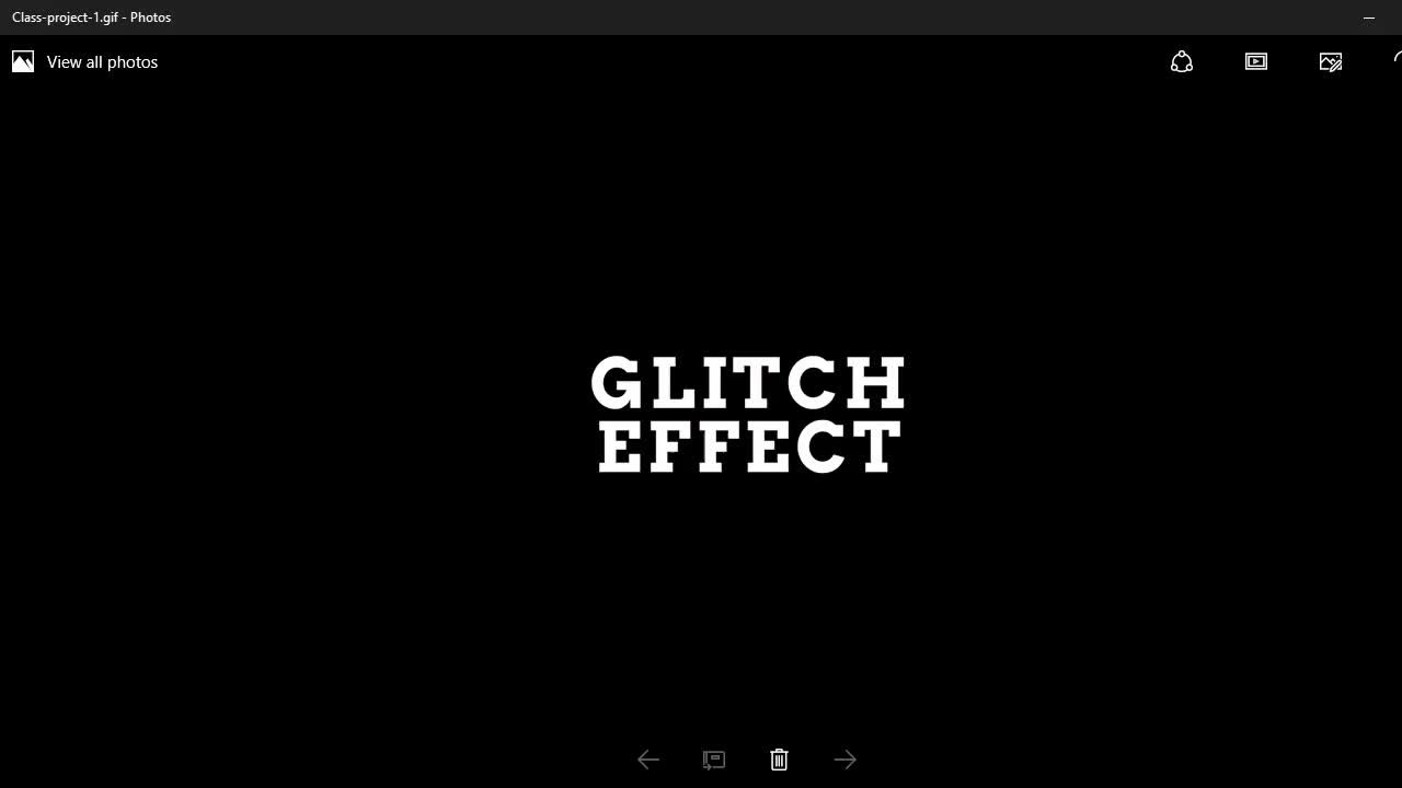 How to Create an Animated Glitch Effect in Photoshop | Jestoni