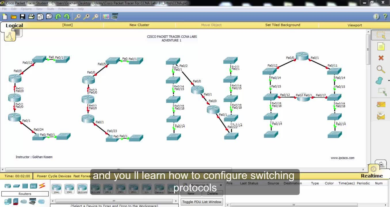 packet tracer