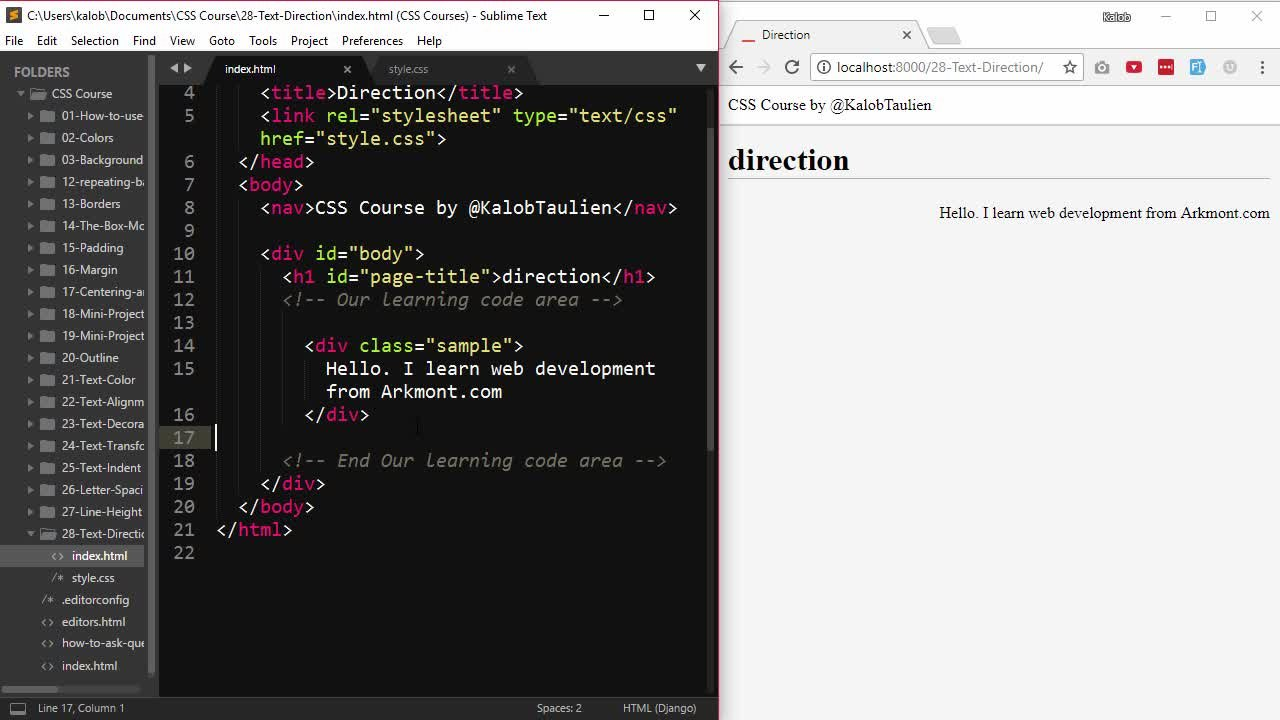 CSS Masterclass: the only CSS course you'll ever need to take