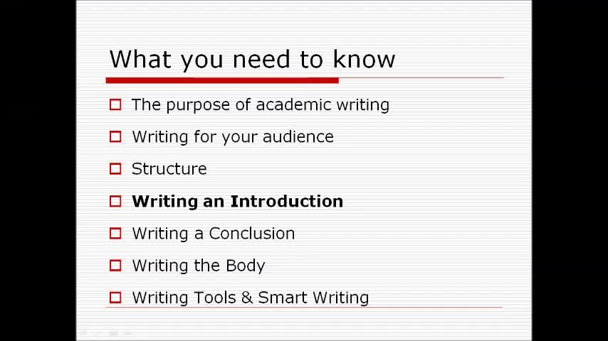 the purpose of academic writing