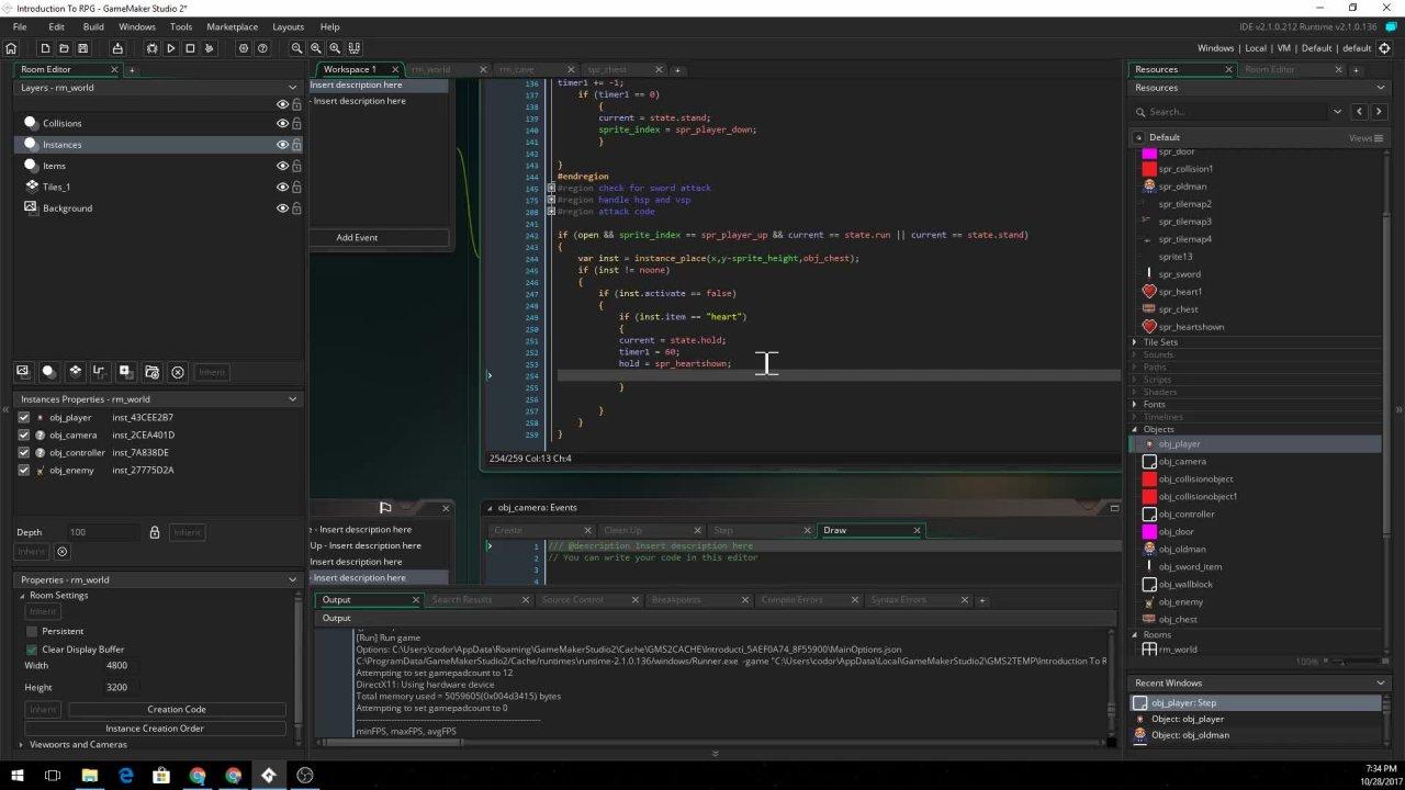 Make An RPG In GameMaker Studio 2 | Ben Lacy | Skillshare