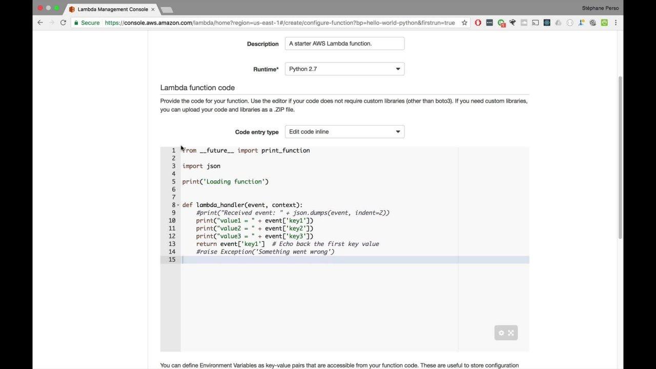 AWS Lambda and the Serverless Framework | Stéphane Maarek | Skillshare