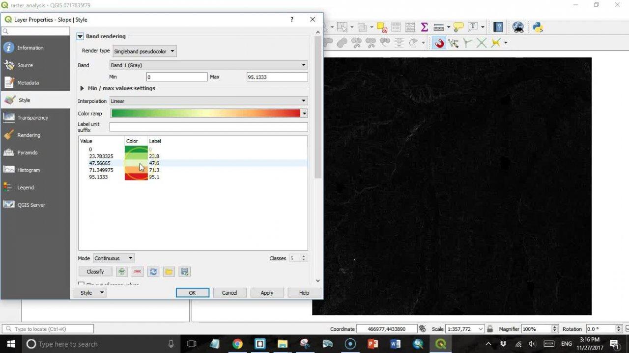 QGIS 3 0h - Raster Analysis   Mike Miller   Skillshare
